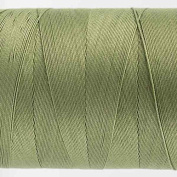 WonderFil Specialty Threads Konfetti Thread Sage Green, 50wt double gassed Egyptian cotton