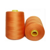 Selric [8000 Yards] 100% Spun Polyester Sewing Thread Large Cone All Purpose Thread [Size 402] 20 Colours Available