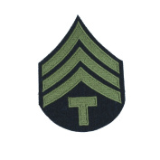Reproduction World War 2 US Army Olive Rank Patches