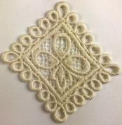 Trimplace Vintage Venice Lace Appliqué - 12 Pieces