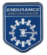 Interstellar Movie Space Exploration Unknown Universe Endurance Uniform Hook Patch