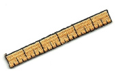 """DKAORU School - Ruler - Embroidered Iron On Applique Patch - 2.25"""" (5.7cm) Happy crafting"""