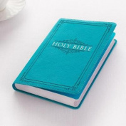 KJV Budget Gift & Award Lux-Leather Turquoise