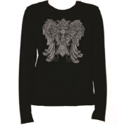 Crystal Wings Over 7000 Rhinestone Ladies T Shirt LR KR6Z