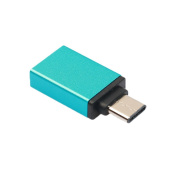 CandyQ USB 3.1 Type C to USB 3.0 Type A Adapter OTG Connector for New 30cm Retina MacBook, Chromebook Pixel and Other Type-C Devices