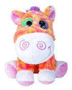 Wild Republic 19608 15 cm Wonky Mini Plush Zebra Toy