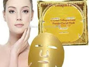5 x PALESTREN ® Collagen Face Masks - Crystal GOLD Anti-Wrinkle Anti-Ageing Facial Gel Patch powder Moisturiser