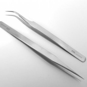 Extra Fine Point Tweezers Size curved