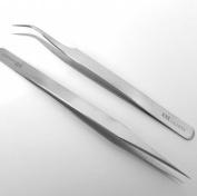 Extra Fine Point Tweezers Size curved
