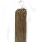 CarolsWigs® 60cm Indian 100s Ash Blonde 16# Premier Remy Loop Micro Ring 100% Human Hair Extensions 5A* UK Seller