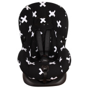 Car seat cover for Maxi-Cosi Priori (XP and SPS) and Römer King (TS) - Black crosses