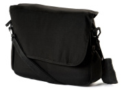 NEW CLAIR DE LUNE DELUXE BLACK UNIVERSAL LARGE MATERNITY CHANGING BAG