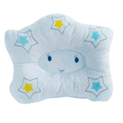 Comfortable Cute Star Newborn Pillow Baby Pillow to Prevent Flat Head , blue
