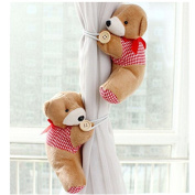 Lalang Window Curtain Tieback Nursery Curtain Tieback Lovely Bear Curtain Buckle and Fastener