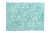 Aratextil. Kids Rug 100% Cotton Machine washable Collection Topitos Mint 120 x 160 cms