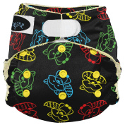 Imagine Baby Products from Bamboo AIO 2.0 Nappy, Raccoon Ruckus, H & L