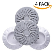Miraclekoo Wall Guard Pads Wall Protection Cups Guard for Pressure Safety Gates