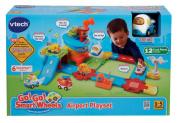 VTech Go Go Smart Wheels Train Set Tracks Airport Kids Learning Playset NEW NIB