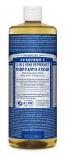 Dr. Bronner's Pure Liquid Castile Soap - Peppermint 950ml