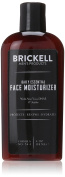 Brickell Men's Daily Essential Face Moisturiser for Men – 120ml – Natural & Organic