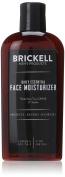 Brickell Men's Daily Essential Face Moisturiser for Men – 120ml – Natural & Organic