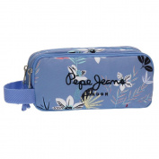 Pepe Jeans Travel bag, 22 cm, 1.98 litres, Blue