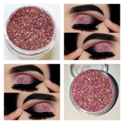 Carnival Rose Laser Holographic Glitter Sparkle Shimmer Effect Dust Powder Makeup Nail Art Manicure Pedicure Lips Eyeshadow 5ml Pot