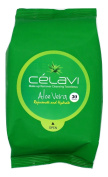 Celavi Makeup Remover Cleansing Wipes Removing Towelettes 2 Packs - 60 Sheets