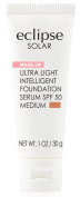 Eclipse Solar Ultra Light Intelligent Foundation Serum SPF 50, Medium, 30ml