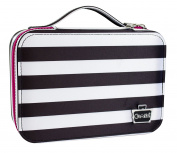 Caboodles Obsession Cosmetic Valet, Black/White Stripe, 0.3kg
