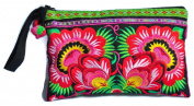 Hill Tribe Handmade Hmong Embroidered bag Thai Boho Small Clutch Purse Bag Handbags Purse Women bag
