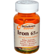 Sundown Naturals Iron Ferrous Sulphate 65 mg, 120 Tablets Thank you to all the patrons We hope that he has gained the trust from you again the next time the service
