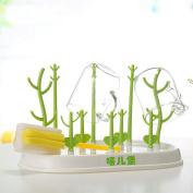 Useful Baby Bottle Nipples Dryer Rack simple tree shape Cleaning Drying Rack Shelf Kitchen Feeding Holder Tools