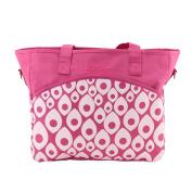 Adorox Baby Nappy Bag - Boy Girl Spacious Stylish Tote - Adjustable Shoulder Strap - Grab Handles - Matching Changing Pad