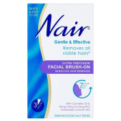 Nair Brush-on Facial Hair Remover (50ml) - Pack of 6 by Nair