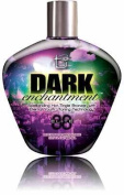 Tan Incorporated Brown Sugar DARK ENCHANTMENT Hot Tingle Bronzer Tanning Lotion