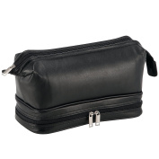 Dermata Toiletry Bag black black