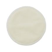 Babykiss Three Layer Waterproof Premium Quality Reusable Breastfeeding Pads, 4 Count