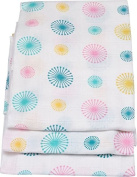 HATON Muslin Cloths Set of 3 Pack of 10