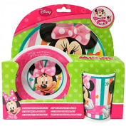 Stor Breakfast Set Minnie Disney melamine