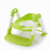 3-in-1 Baby Potty Training Ladder Seat Step Tool, Toilet Trainer Seat for Kids and Toddlers