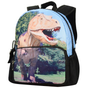 Backpack for Kids,Bistar Galaxy 3D Aanimal Backpack for Children Rucksack for Kids with Large Zip
