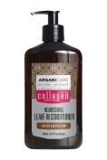 Arganicare Restoring Collagen Leave In Conditioner with Certified Organic Argan Oil and Collagen for dry and damaged hair 400ml