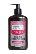 Arganicare Restoring Collagen Leave In Conditioner with Certified Organic Argan Oil and Collagen for curly and brittle hair 400ml