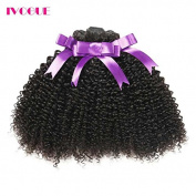 iVogue Hair Brazilian Afro Kinky Curly Human Hair Bundles Virgin Human Hair Extensions 3 pcs/lot 300g Total Full Head Weaves