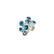 Universal Turquoise Rhinestones Bead