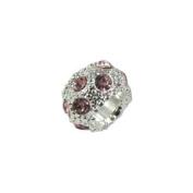 Universal Pink Rhinestones Bead