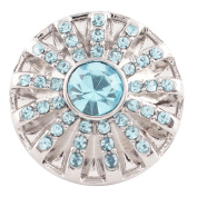 Lovmoment Snap Birthstone 20MM Snap Jewellery Button Charms