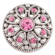 Lovmoment Snap Oct. Birthstone 20MM Snap Jewellery Button Charms