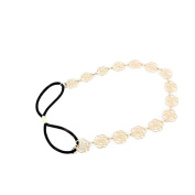 diffstyle 1PCS Elegant Metal Flower Chain Head Band Beauty Wedding Party Hairband for Women